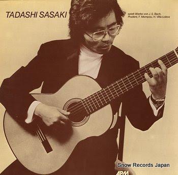 SASAKI, TADASHI s/t