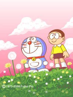 gambar foto dp bbm kartun doraemon bergerak lucu terbaru