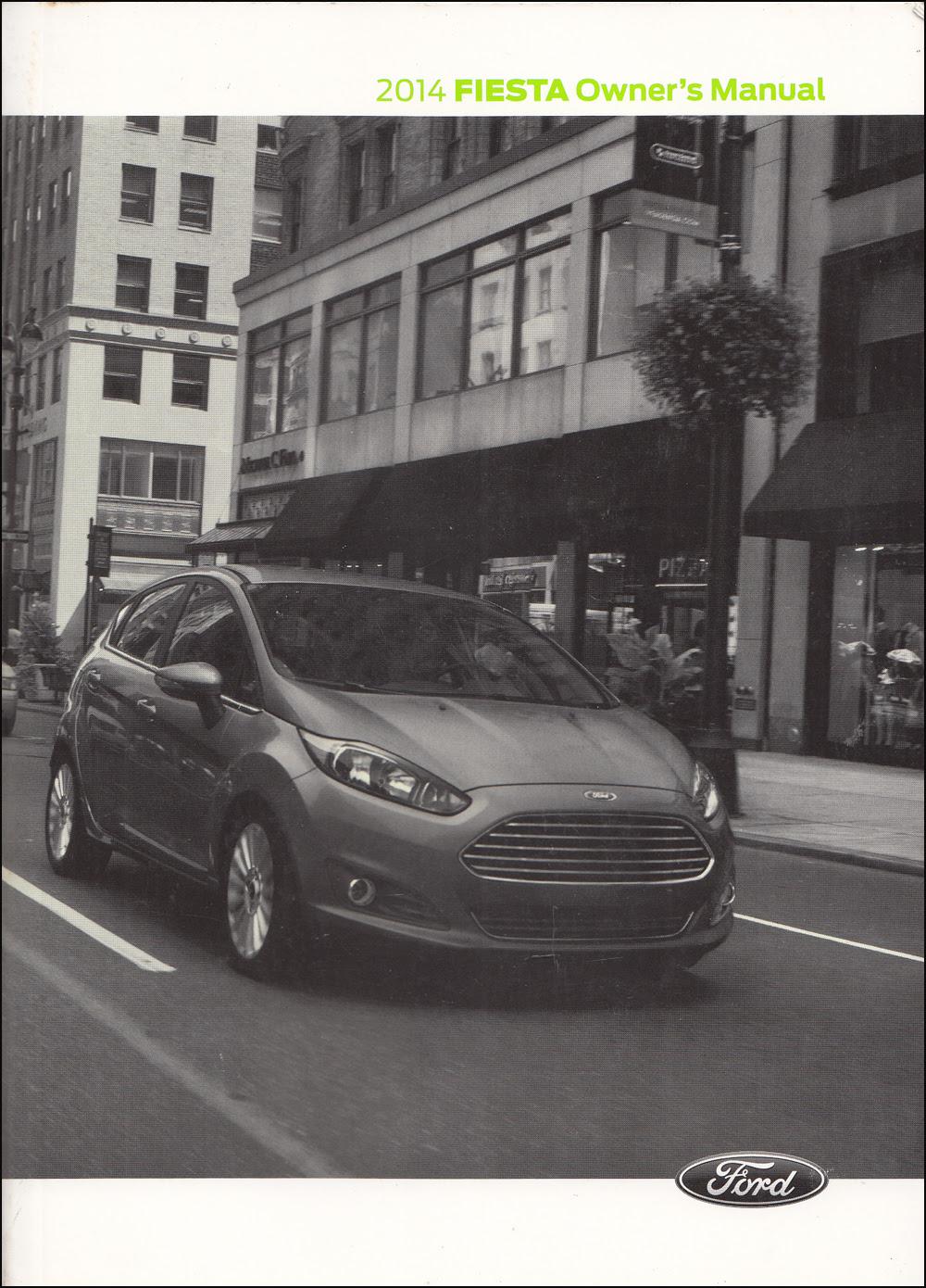 2014 Ford Fiesta Wiring Diagram Manual Original