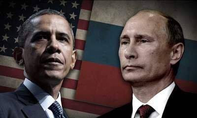 Risultati immagini per obama and putin in syria