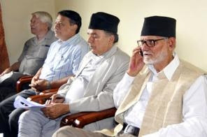 English: Top leaders of Nepali Congress –spoke...