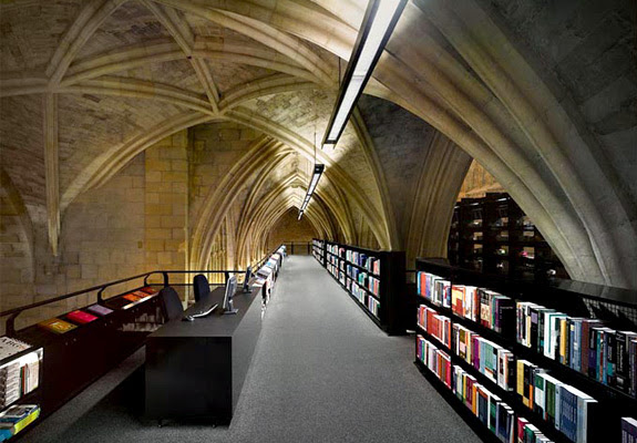 selexyz dominicanen 4 The Worlds 6 Coolest Looking Bookstores