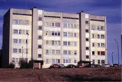 Apartment building in Valka
