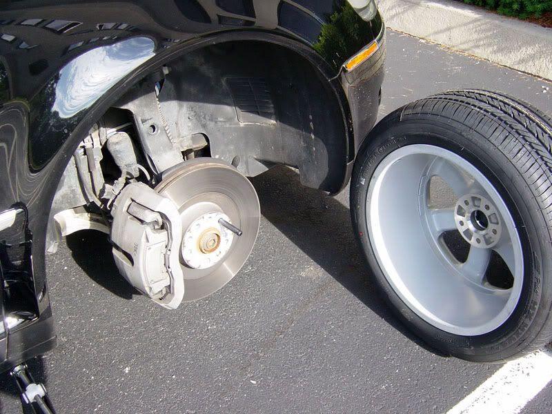 Vwvortex Com How To Change A Flat Tire On A Phaeton