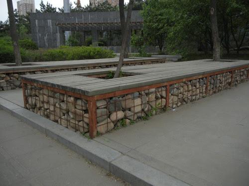 Pebble Benches, Shenyang _ 9106