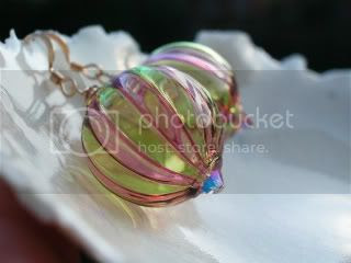 Murano Hand blown earrings