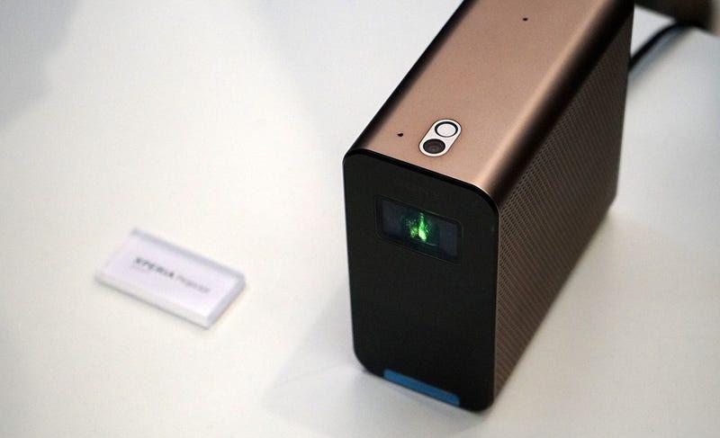 Xperia Eye, Projector y Agent: así son los inquietantes prototipos conectados de Sony