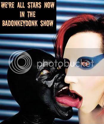 marilyn mansons badonkeydonk dope show