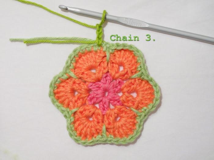 Цветочный фрагмент крючком АФРИКАНСКИЙ ЦВЕТОК для вязания игрушек (57) (700x525, 199Kb)