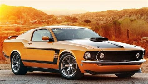 New 1969 Ford Mustang Boss 429