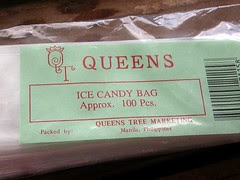 ice candy bags