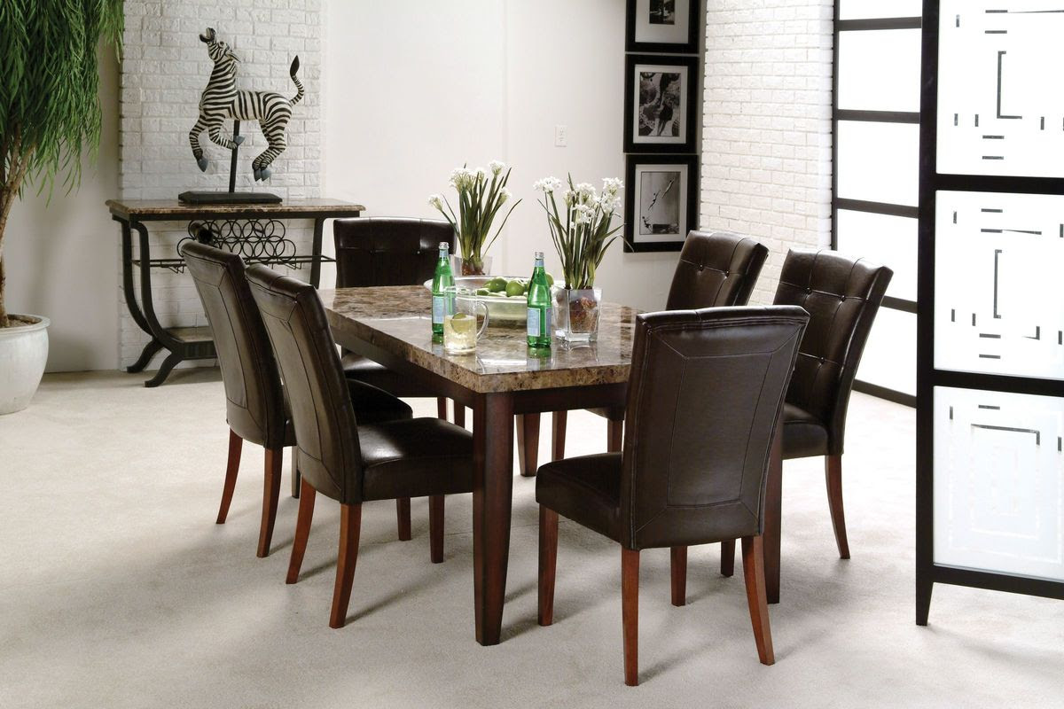 Montibello Dining Table + 6 Chairs at Gardner-White