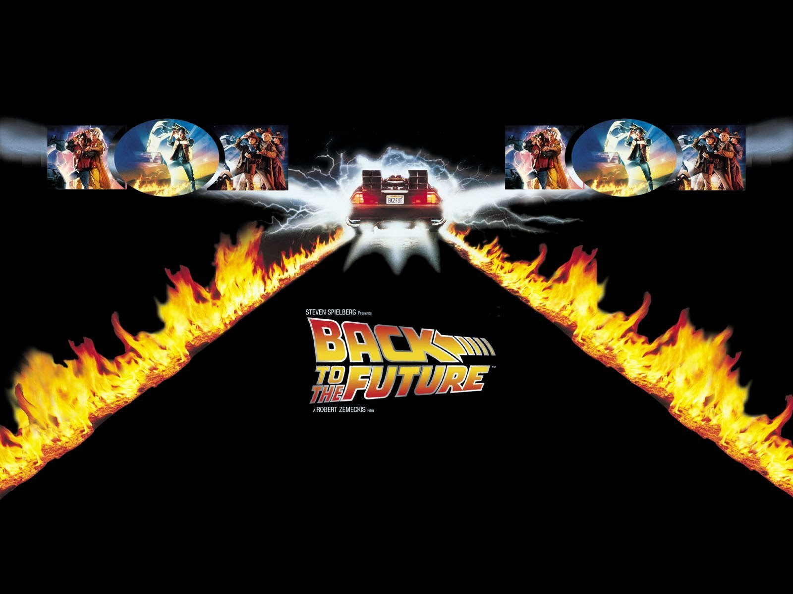 Back To The Future Wallpaper 1600x1200 5528