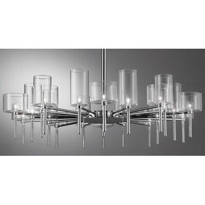 Lighting Mania Webstore Spillray 20 Light Chandelier