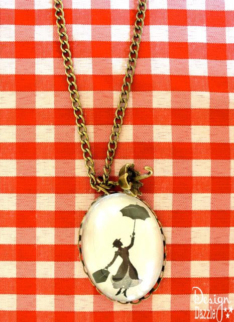 Mary Poppins necklace - Design Dazzle