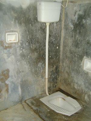 Agentes têm que usar sanitário de cela em Canhotinho (Foto: Divulgação/Sinpol)