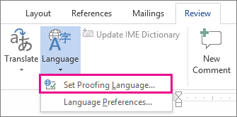Microsoft Office Tutorials: Check spelling and grammar in ... - photo#29