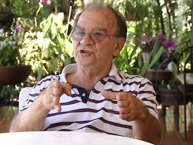 O pesquisador Gilberto Chierice, desenvolvedor da fosfoetanolamina sintética, a chamada pílula do câncer na USP de São Carlos (Foto: Reprodução/ EPTV)