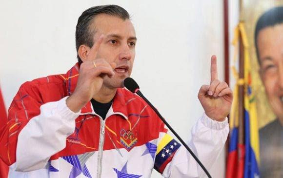 El vicepresidente del Partido Socialista Unido de Venezuela para Aragua y Carabobo, Tareck El Aissami