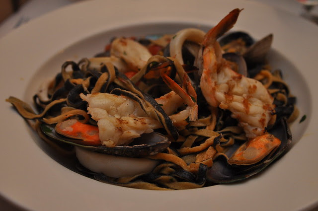 Sesame Grill- Arcadia, CA: Seafood Pasta