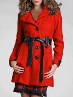 Arden B. Belted Wool Coat