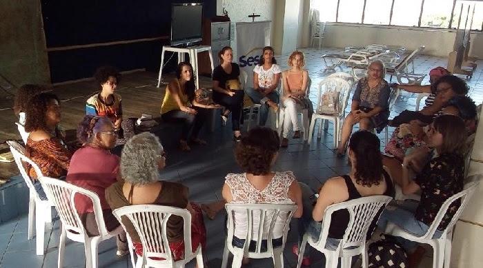 Um dos organizadoras da pesquisa, o Clube de Leitura Floriterárias realizou seu 24º encontro em maio, no Sesc Santo Amaro, Região Centro do Recife.  (Osnaldo Moraes/DP)