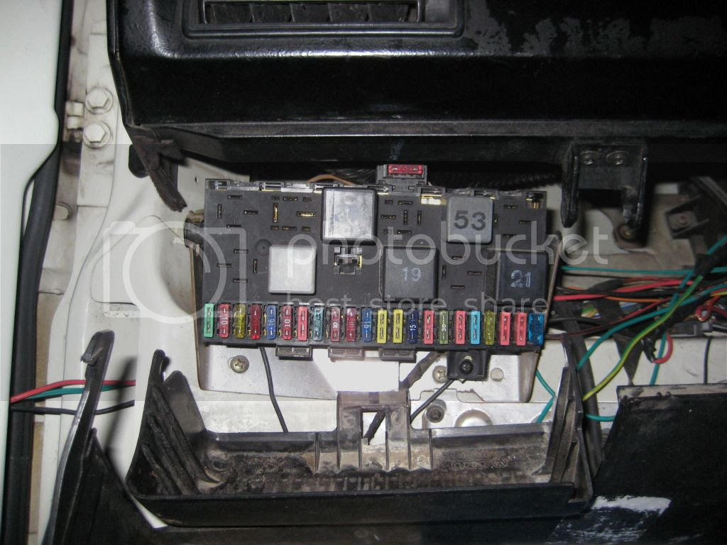 Vw T4 Fuse Box Removal
