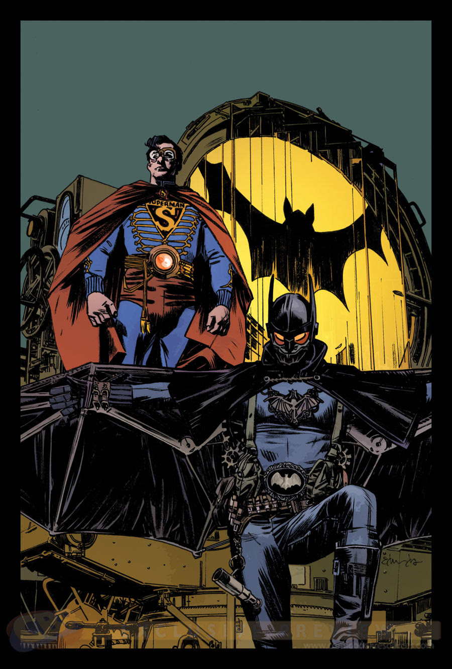 BATMAN/SUPERMAN, PORTADA DE TOMMY LEE EDWARDS