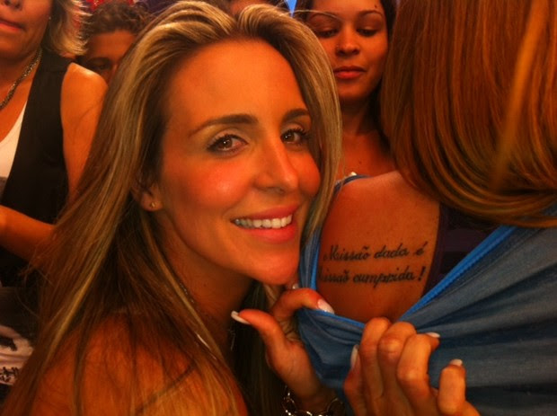 Ego Fã Copia Tatuagem De Joana Machado Notícias De Famosos
