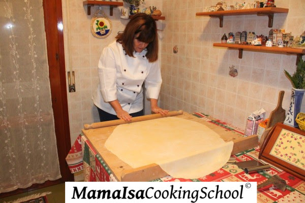 Step 18: How to make fresh egg pasta - The art of pasta making in Italy