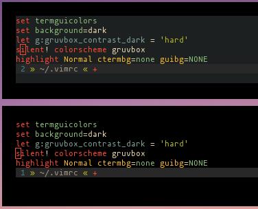 vim/vim] Clear termguicolors guibg with :hi * guibg=NONE (#2332