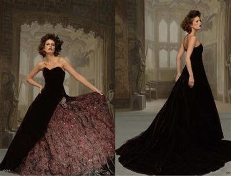 Red And Black Gothic Wedding Dresses   Weddbook