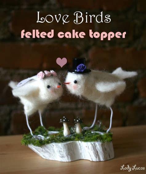 Love Birds Wedding Cake Topper   FaveCrafts