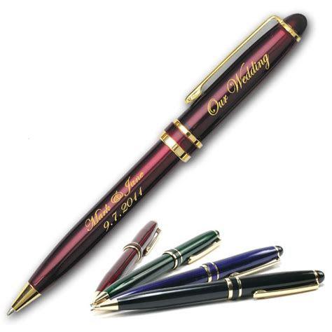 The Ritz Wedding Pen Laser Engraved