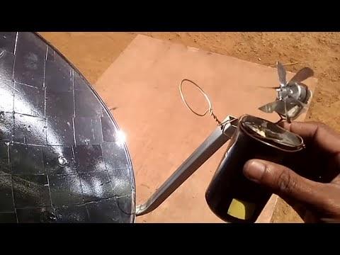 How to Make Parabolic Solar Reflector