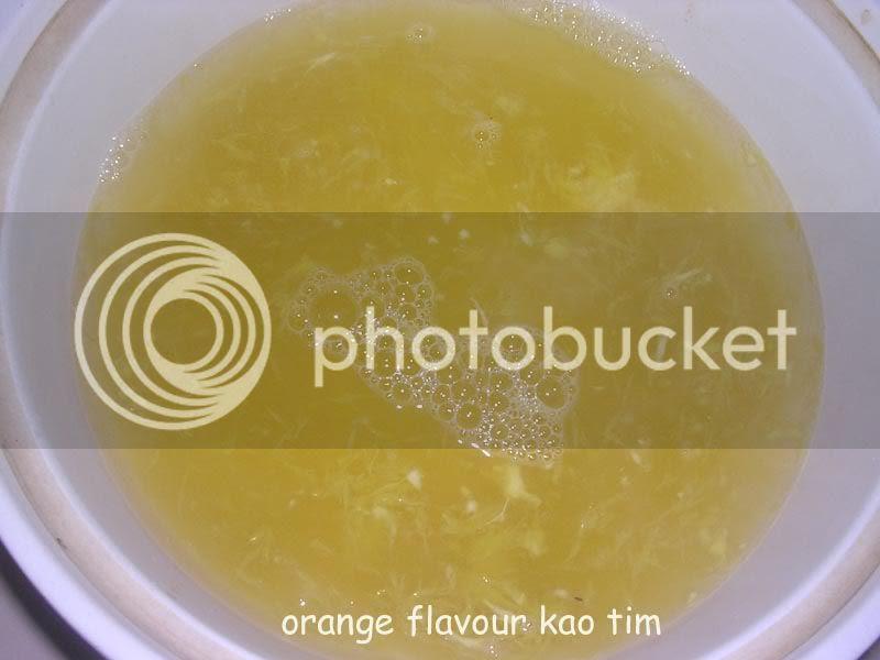 orange flavour kao tim