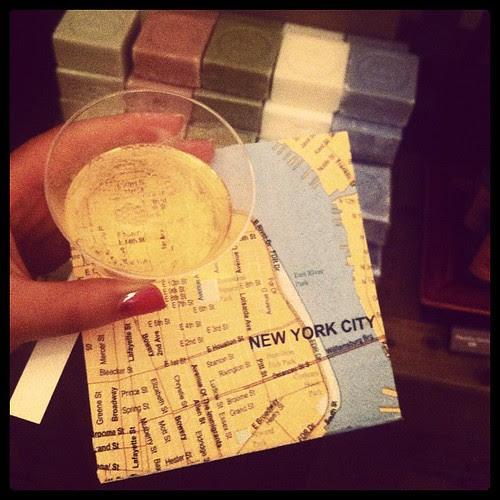 Map napkin