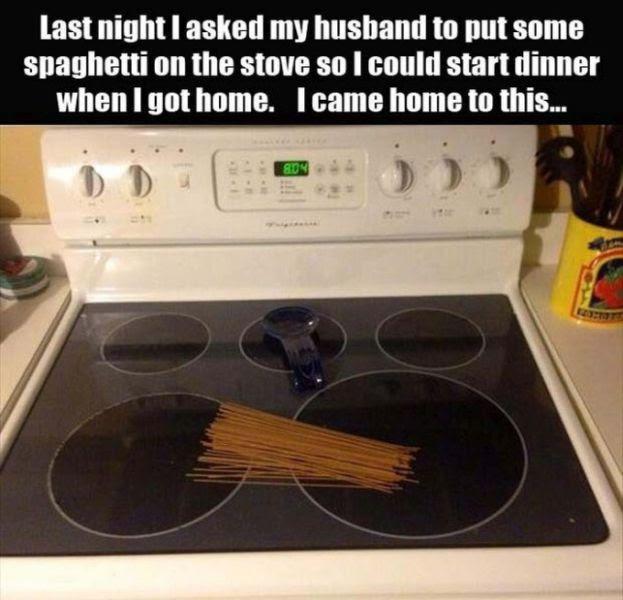 You Just Can't Beat Husband Logic