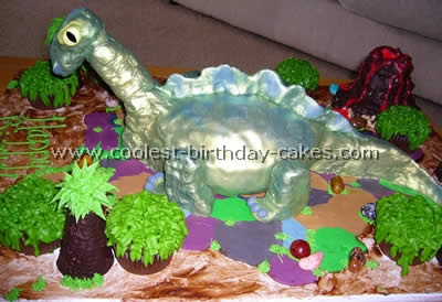 Tremendous Dinosaur Birthday Cake For 4 Year Old Boy Top Birthday Cake Personalised Birthday Cards Sponlily Jamesorg