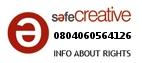 Safe Creative #0804060564126