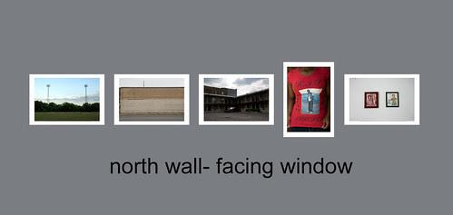 north wall facing toward window web