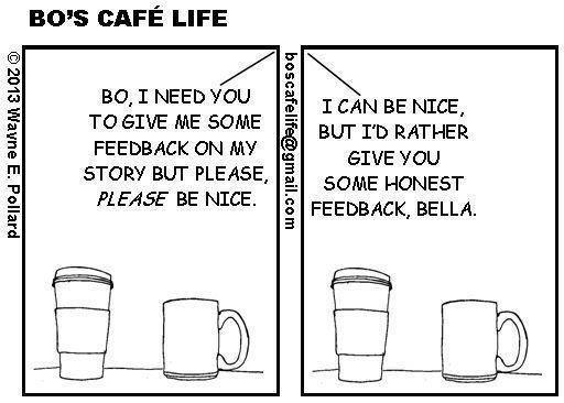 A Writer's Comic - Advice