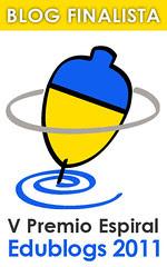 finalista premio espiral edublogs2011