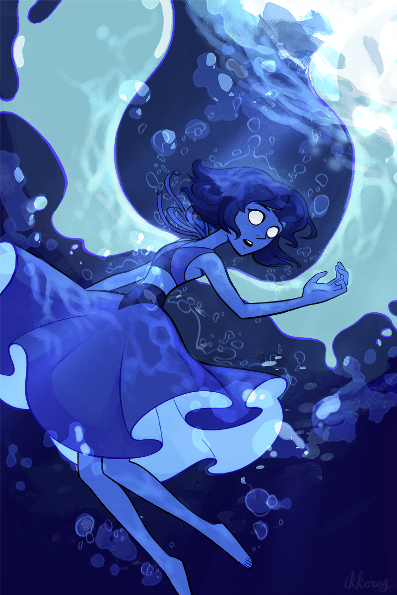 Ocean Gem Lapis Lazuli is one of the coolest Steven Universe characters; hopefully we get to see more of her in the coming episodes? I can't live without the Riptide Queen!! (going to have this as a...