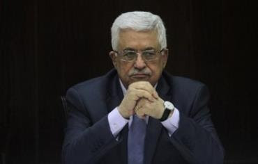 Palestinian Authority President Mahmoud Abbas in Ramallah, July 28, 2013.