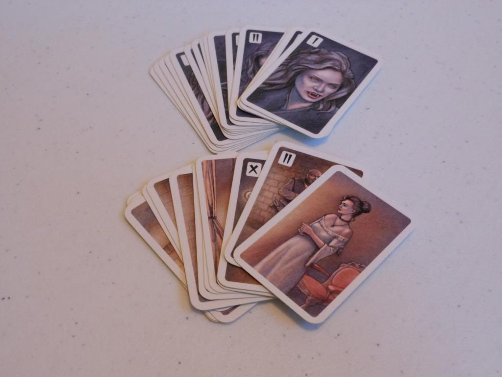 Dracula - encounter cards
