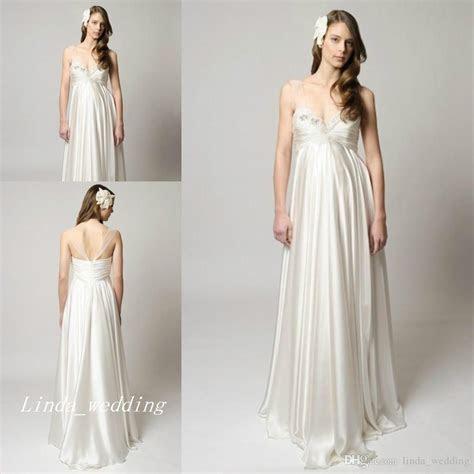 Discount New Maternity Empire Waist Wedding Dresses
