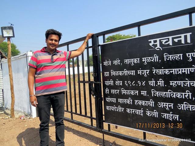 "Amenity space ready for handover - Visit Amit Rujuta Ventures' ""Gloria"" 1 BHK 1.5 BHK 2 BHK Flats at Nande near Hinjewadi on Pirangut Nande  Road Taluka Mulshi District Pune 412115"