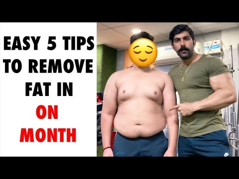 How Can Remove Belly Fat