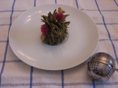 Tea ball after